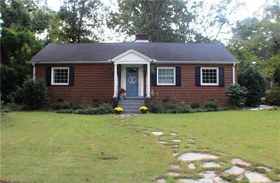Anderson County Single Family Home For Sale: 503 Jackson Square