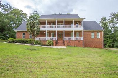 Anderson Single Family Home For Sale: 5600 Abbeville Highway