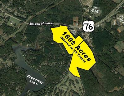 Anderson Residential Lots & Land For Sale: 00 Belton Highway