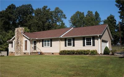 Anderson SC Single Family Home For Sale: $154,000