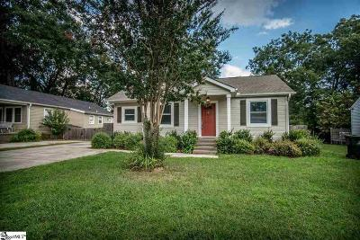 Greenville Single Family Home Contract-Right of Refusal: 308 Willow Springs Drive