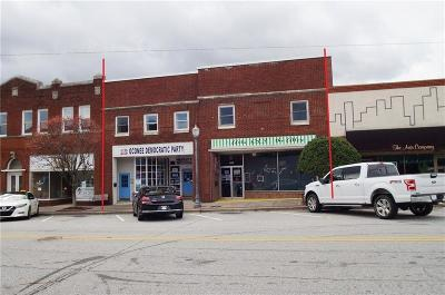Seneca Commercial For Sale: 123 N Townville Street