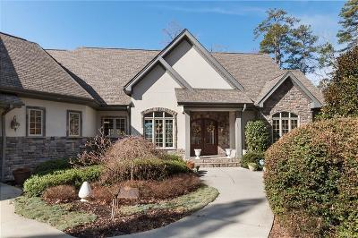 The Summit, Eastshores, Keowee Subdivision, White Oak Cliff, shangri-la, shangrila, Lakewood Estate, Sugar Hill, Port Santorini, Lakeview Height, Eleven Oaks, Waterford Sub, Waterford Pointe - Oconee Single Family Home For Sale: 704 Dewberry Way