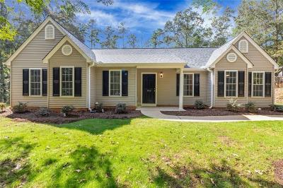 Central Single Family Home Contract-Take Back-Ups: 126 Oak Springs Circle