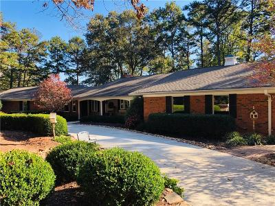 Single Family Home For Sale: 810 Seminole Point Road