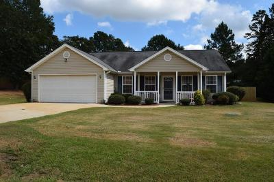 Williamston SC Single Family Home Contract-Take Back-Ups: $169,900