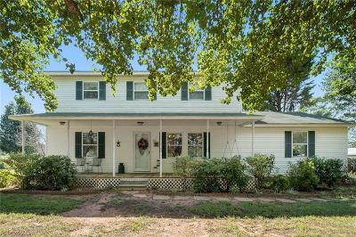 Townville Single Family Home For Sale: 718 Double Springs Road