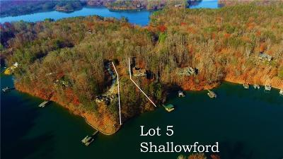 Sunset Residential Lots & Land For Sale: Lot 5 Shallowford At Keowee