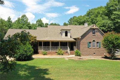 Anderson Single Family Home For Sale: 218 Deer Run Road