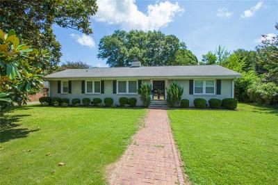 Anderson Single Family Home For Sale: 2008 Lindale Road