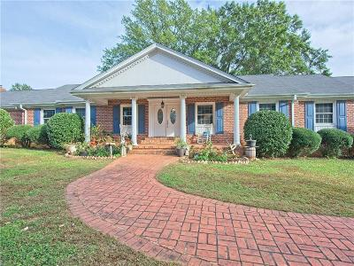 Pickens County Single Family Home For Sale: 301 W Roper Road