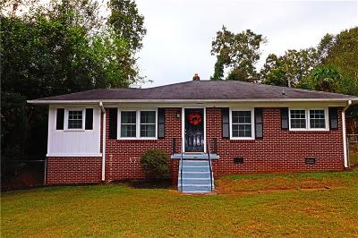 Anderson Single Family Home Contract-Take Back-Ups: 407 Pine Hill Court