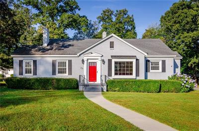 Greenville County Single Family Home Contract-Take Back-Ups: 28 Claremore Avenue