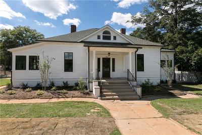 Anderson Single Family Home For Sale: 826 S McDuffie Street