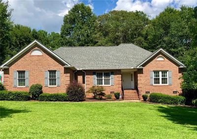 Anderson Single Family Home For Sale: 130 Holly Ridge