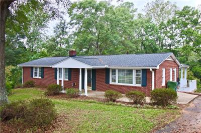 Greenville County Single Family Home Contract-Take Back-Ups: 903 Fargo Street