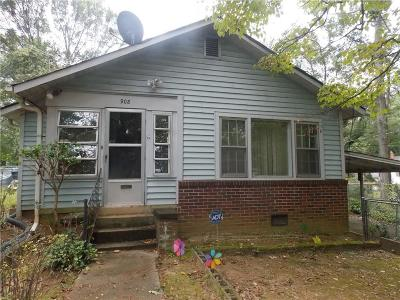 Anderson Single Family Home For Sale: 908 Kennedy Street