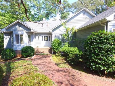 Anderson County, Oconee County, Pickens County Single Family Home For Sale: 110 Deep River Road