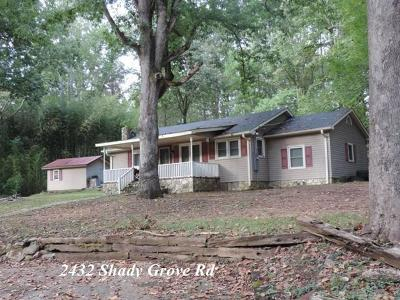 Sunset Single Family Home For Sale: 2432 Shady Grove