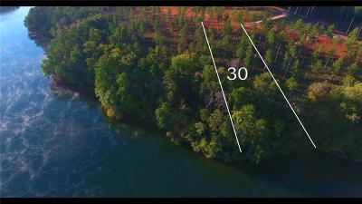Six Mile Residential Lots & Land For Sale: Lot 30 Cove Harbor