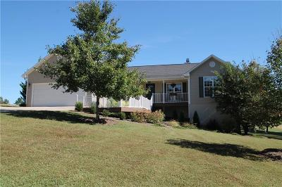 Walhalla Single Family Home For Sale: 1605 Banchory Circle
