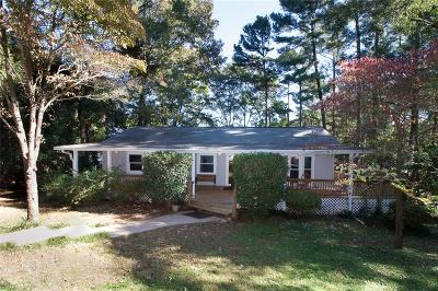Anderson County, Oconee County, Pickens County Single Family Home For Sale: 215 Circle Drive