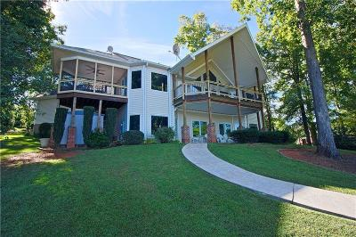 Oconee County, Pickens County Single Family Home Contract-Take Back-Ups: 425 E Lakeside Drive