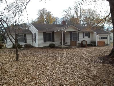 Anderson Single Family Home For Sale: 3501 Catawba Avenue