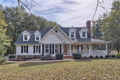 Easley Single Family Home For Sale: 401 Watson Road