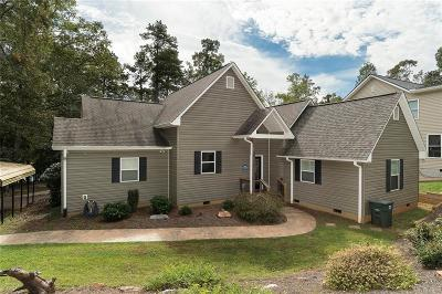 Anderson County, Oconee County, Pickens County Single Family Home For Sale: 2205 Mullinax Drive