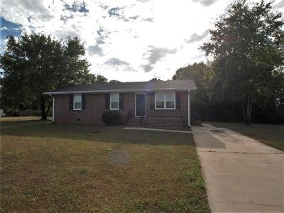 Anderson Single Family Home For Sale: 113 Range View Circle
