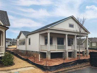 Clemson Single Family Home For Sale: 204 Sikes Avenue