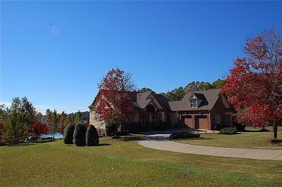 Hart County, Franklin County, Stephens County Single Family Home For Sale: 190 Majestic Shores Road