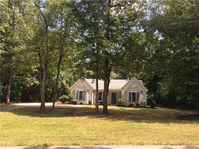 Clemson Single Family Home Contract-Take Back-Ups: 105 Stardust Lane