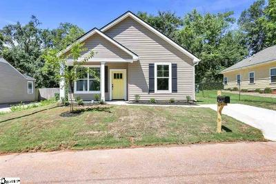 Greenville County Single Family Home For Sale: 16 Palm Street