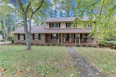 Anderson Single Family Home For Sale: 1401 Stonehurst Drive