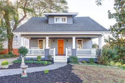 Easley Single Family Home For Sale: 209 W 2nd Avenue