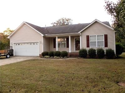 Single Family Home For Sale: 612 Hunters Lane