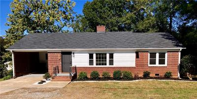 Anderson Single Family Home For Sale: 502 Whitehall Road