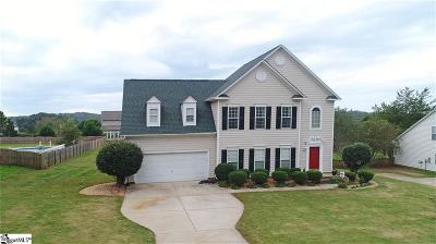 Easley Single Family Home For Sale: 232 Sassafras Drive