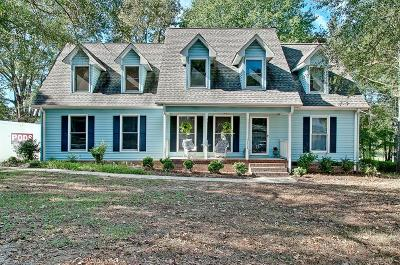 Simpsonville Single Family Home Contract-Take Back-Ups: 203 Spring Meadow Road