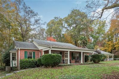 Westminster Single Family Home For Sale: 612 Mimosa Road