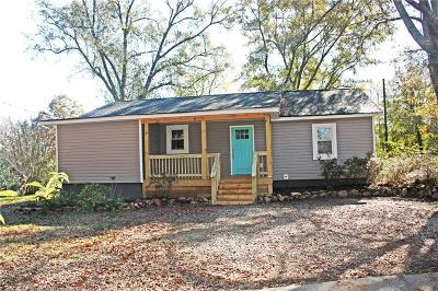 Liberty Single Family Home For Sale: 309 Patterson Road