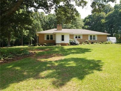 Single Family Home For Sale: 210 Voyles Road