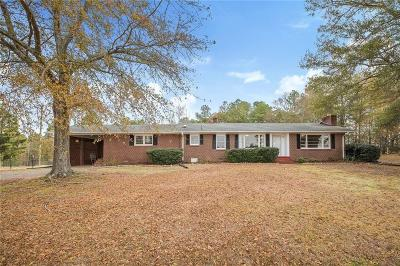 Single Family Home For Sale: 2318 Flat Rock Road