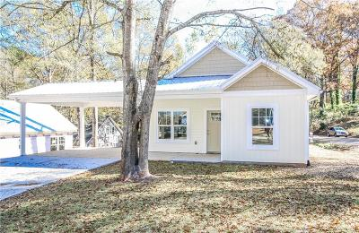 Oconee County Single Family Home For Sale: 220 W Woodland Drive