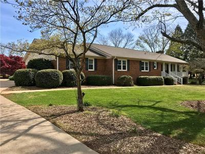 Anderson Single Family Home For Sale: 3513 Hopewell Road
