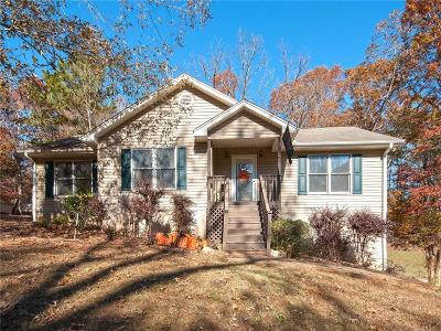 Seneca SC Single Family Home Contract-Take Back-Ups: $159,000
