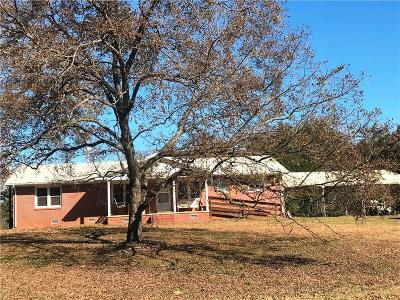 Anderson Single Family Home For Sale: 3421 Airline Road