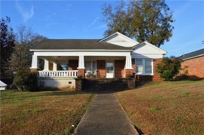 Pickens Single Family Home For Sale: 208 Pendleton Street